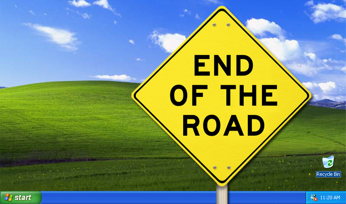 Windows XP end of the road